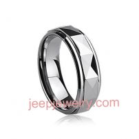 Tungsten ring has male ,female and couple tail ring which can be rolled