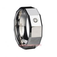 Tungsten ring has men , women and couple style