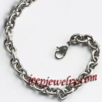 4.5mm Cable Titanium Chain Necklace
