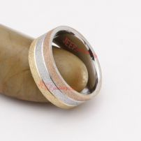 The different color type stainless steel ring