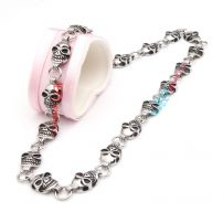 Skull handsome fashion stainless steel necklace