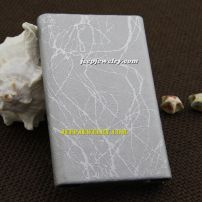 The higher quality in silver leather alloy cardcase