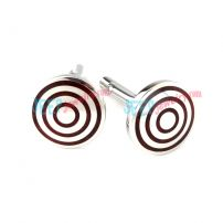 Red Lollipop Stainless Steel Cufflinks Jewelry Stamping