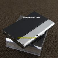 The cold appearance leather of mystery alloy cardcase