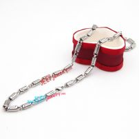 The lock style broadband Men necklace