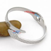 Wrapping Around Your Waist---Snake Shape Fashionable Stainless Steel Wholesale Bangles