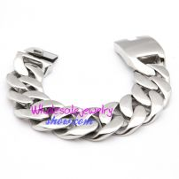 Stylish Heavy Duty Stainless Steel Mens Bracelet