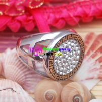 Unique Design of Religious Style of Circle brand of Stainless Steel Fashionable Rings