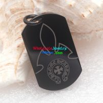 A good stainless steel wholesale shop would provide the best black men's pendant to you