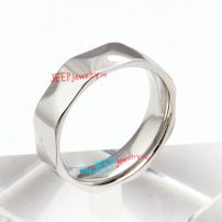 316L stainless steel irregular shape ring of outstanding fashion design