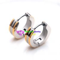 A Ring-liked Shaped Earring Made of Stainless Steel