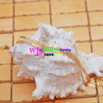 Golden Coins shape stainless steel necklace fashion pendant necklace