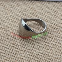 Special appearance ring made of stainless steel