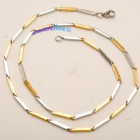 STEEL 316L Stainless Steel Gold Plated Necklaces