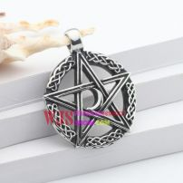 The hyperphysical design fashionable pendant of the moon and the stars in the sun