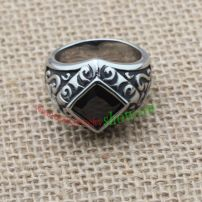 The Aesthetic Ring with the Beautiful Pattern