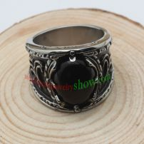 Ancient style ring & made of stainless steel