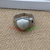 Brief shape of ring & made of stainless steel