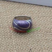 Purple ring & made of stainless steel