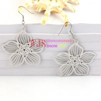 As Bright As Flowers-Bauhinia-Shaped Earrings