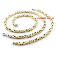 Fashion shape of choker and bracelet made of stainless steel