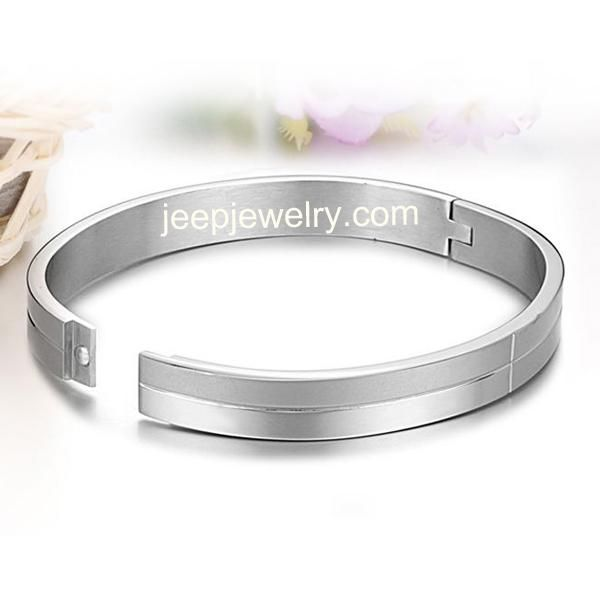 Couple bracelet female wide fashion titanium steel bracelets bracelets restoring ancient ways