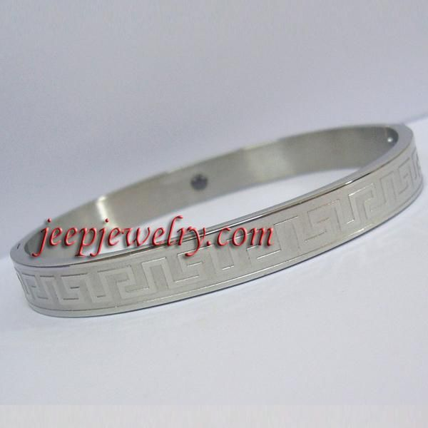Stainless Steel Magnetic Bangle Bracelet Wristband Health Therapy GREEK SV A