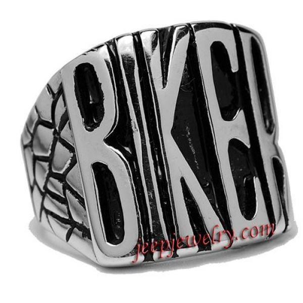 Wholesale stylish Stainless Steel \'Biker\' Ring