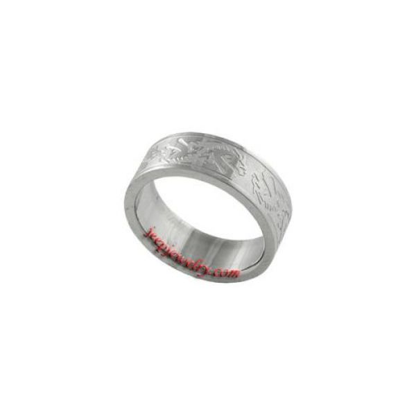 Stainless Steel Dragon Fashion Ring
