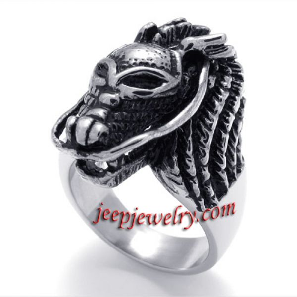 Leading stainless steel ring