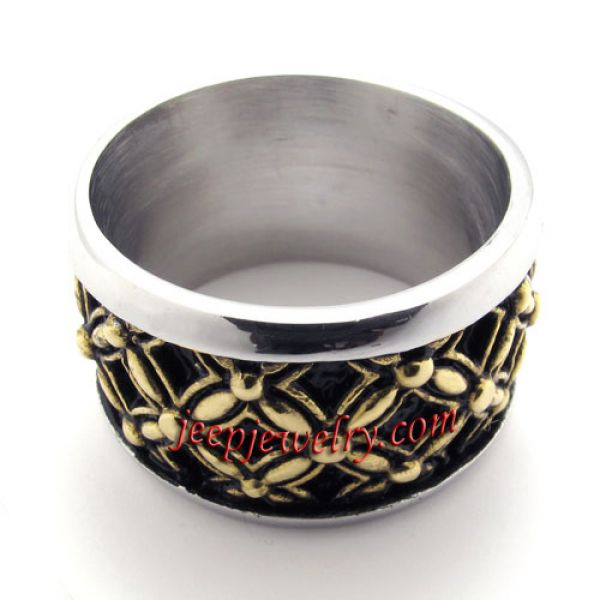 Grid die-casting stainless steel ring