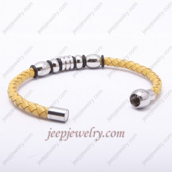 Fashion and graceful yellow cortex bracelet