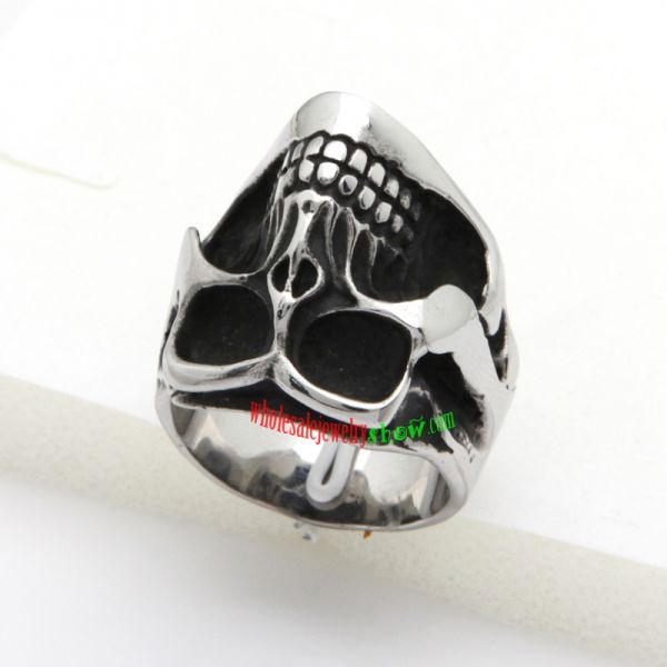 black holes skull ring cheap costume jewelry jeepjewelry