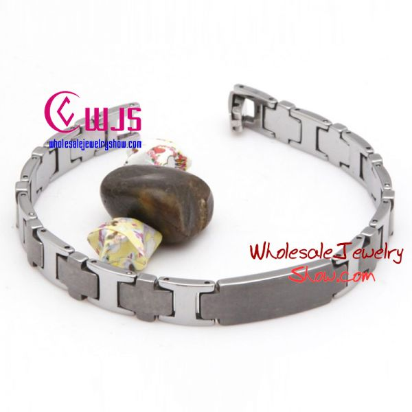 Fashion gentleman tungsten steel bracelet