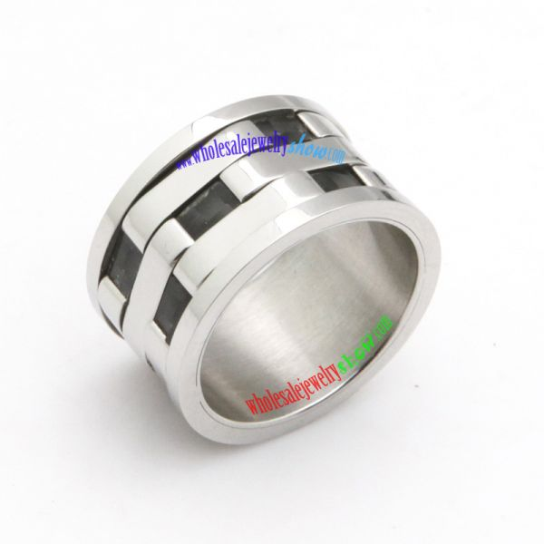 Link type stainless steel ring