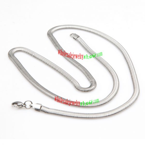 Cool Style Fashion Silver Chain Design of Stainless Steel Necklace For Women