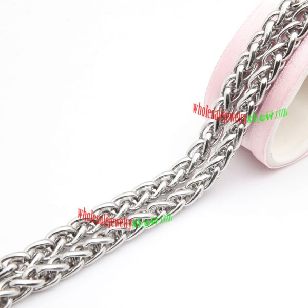 Particular Style of Silver Snake Design of Stainless Steel Necklace Fashion Jewelry Wholesale