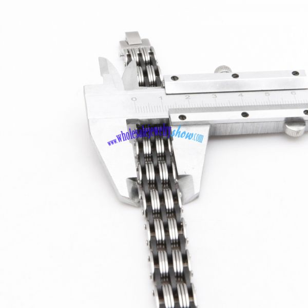 Jewelry Mens Stainless Steel Link Chain Bracelet Cuff