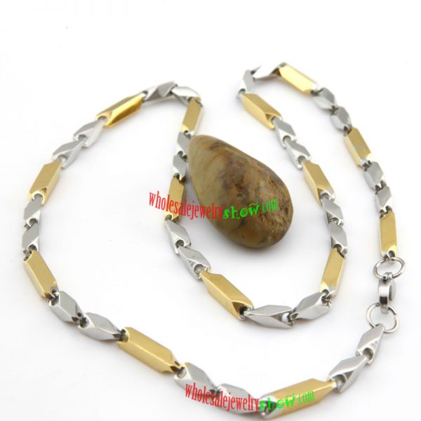 Special Feeling Necklace Stainless Steel Different wheat Shape and Color