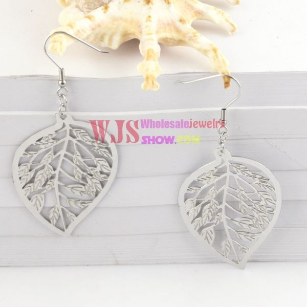 The Poplar Leaf-Shaped Earrings for the Strong You