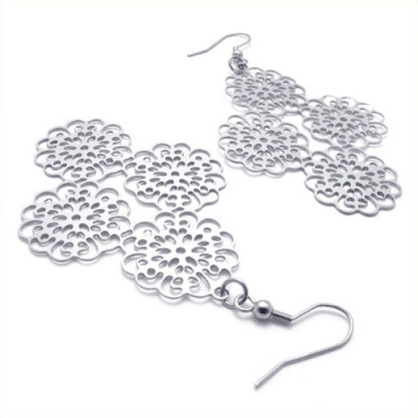The Chrysanthemum Flower-Shaped Earrings for the Charming You