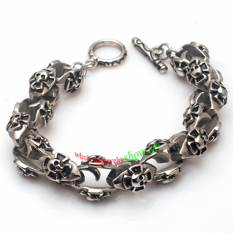 Special Skull Cool Young Men 316l Stainless Steel Bracelet